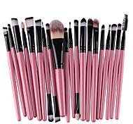 Недорогие -20 в комплекте Кисти для макияжа профессиональный Макияж Кисть из синтетических волокон Экологичные / Для профессионалов Пластик