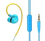 baratos -DM100 EARBUD Com Fio Fones Dinâmico Cobre Celular Fone de ouvido HI FI / Com Microfone Fone de ouvido