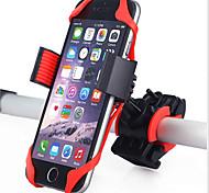 Недорогие -Крепление для телефона на велосипед Горный велосипед силикагель Красный - 1 pcs