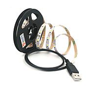 abordables -ZDM® 2m Cuerdas de Luces 300 LED Blanco Cálido / Blanco Fresco Cortable / USB / Conectable Alimentado por USB 1pc