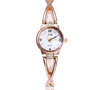 cheap -Women's Wrist Watch / Bracelet Watch Chinese Imitation Diamond / Casual Watch Alloy Band Minimalist / Fashion Silver / Gold