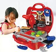 Недорогие -Игрушечные инструменты / Ящики для инструментов Творчество / Взаимодействие родителей и детей Детские / дошкольный Подарок 19pcs
