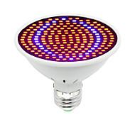 Недорогие -1шт 30W 1600lm E26 / E27 Растущая лампочка 200 Светодиодные бусины SMD 5730 Декоративная Синий Красный 85-265V