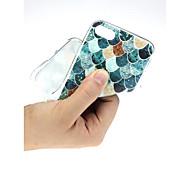 Недорогие -Кейс для Назначение Apple iPhone X / iPhone 7 Ультратонкий / С узором / Милый Кейс на заднюю панель Пейзаж Мягкий ТПУ для iPhone X /