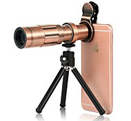 cheap -Mobile Phone Lens Wide-Angle Lens Aluminium Alloy 20X Macro 3 m 70 ° Lens with Stand
