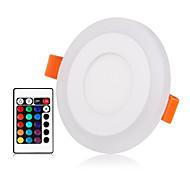 abordables -ZDM® 1 juego 3 W 30 LED Nuevo diseño / Control remoto / Regulable Luces de Panel / Luces LED Descendentes RGB + Caliente / RGB + Blanco