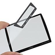 Fotga prima la pantalla LCD del panel protector de vidrio para Nikon D3/D3x