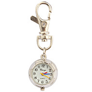Stainless Steel Pocket Watch with Keychain Cool Watches Unique Watches