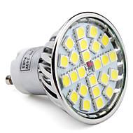 GU10 LED Spotlight MR16 24 SMD 5050 280lm Natural White 6000K AC 85-265V