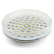 4w gx53 led spotlight 60 smd 3528 300-350lm blanco cálido 2800k ac 220-240v 1pc