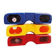 parlak renkli gözlük tarzı taşınabilir gece görüş dürbün (rastgele renk)