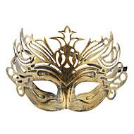 abordables Artículos para Celebración-Vintage mitad Coronada Máscara para Halloween Masquerade Party