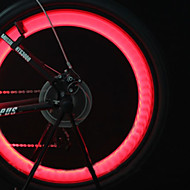 Cykellys hjul lys Ventilhætters blinklys Forlygte til cykel LED Cykling baggrundslys batterier Lumen Batteri Cykling Motorcykkel