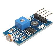 olcso Arduino tartozékok-6495 photoresistor fényérzékelő modul smart car (fekete-kék)