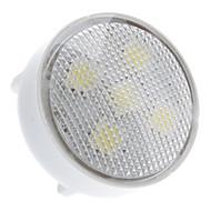 GU4(MR11) LED Spotlight 5 SMD 5050 100lm Natural White 6000K AC 220-240V