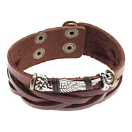 billige -Herre Charm-armbånd Læder Armbånd Læder Unikt design Mode Armbånd Smykker Til Julegaver Sport