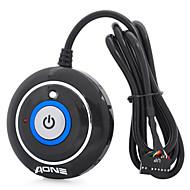 JM-202 Desktop Power Button Switch Module para PC (Negro, 110 cm de cable)