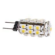 1,5w g4 led corn lichten t 28 smd 3528 180lm warm wit 3500k dc 12v