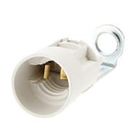 cheap Lamp Bases-E14 Lighting Accessory Bulb Connector Plastic
