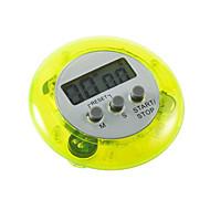 お買い得  キッチン用小物-デジタルlcdキッチン調理タイマーカウントアップクロック大音量の目覚まし時計