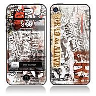 Газета отдел дизайна и обратно всего тела протектор Наклейки для iPhone 5