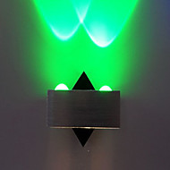 Integrert LED Moderne / Nutidig galvanisert Trekk for LED Mini Stil Pære inkludert,Atmosfærelys Vegglampe