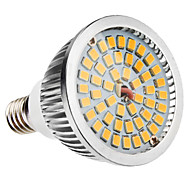 6w e14 led spotlight mr16 48 smd 2835 500-600lm blanco cálido 3500k ca 100-240v