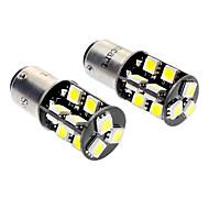 baratos -1157 BA15D (1142) Carro Branco 3.5W SMD 5050 6000-6500 Luz de Sinal de Direcção Luz de Travão Canbus