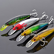 お買い得  釣り用アクセサリー-1 pcs ハードベイト / ミノウ / ルアー ハードベイト / ミノウ 硬質プラスチック 海釣り / 川釣り