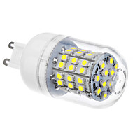 G9 LED Corn Lights 60 SMD 3528 320lm Natural White 6500K AC 110-130 AC 220-240V