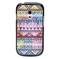 Triangle Vævet Design Pattern hårdt tilfældet for Samsung Galaxy I8190