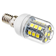 abordables BRELONG-1pc 3 W 5500 lm E14 Bombillas LED de Mazorca T 27 Cuentas LED SMD 5050 Blanco Natural 220-240 V