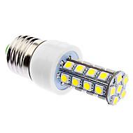 お買い得  LED コーン型電球-daiwl調光可能E27 6ワット30xsmd5050 400-500lm 5500-6500k自然な白色光が(85-265v)トウモロコシの電球を導いた