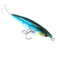cheap -pcs Hard Bait Minnow Green White Red Blue g/Ounce mm inch,Hard Plastic Sea Fishing Freshwater Fishing