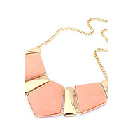 Women's Choker Necklaces Synthetic Gemstones Alloy Fashion Luxury European Jewelry For Party Daily