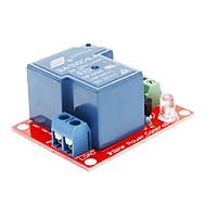 お買い得  Arduino 用アクセサリー-30A 250Vリレーモジュール - 赤+青