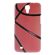 Matte Style Basketball Design Durable Hard Case for Samsung Galaxy Mega 6.3 I9200