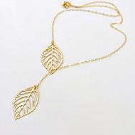 Недорогие $0.99 Модное ювелирное украшение-Жен. С кисточками Ожерелья с подвесками - Дамы, кисточка Золотой Ожерелье Бижутерия Назначение Для вечеринок, Повседневные