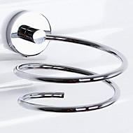 abordables Artículos para el Hogar-Estantería de Baño Alta calidad Moderno Latón 1 pieza - Baño del hotel