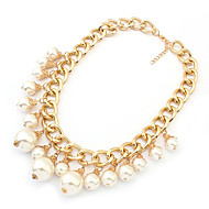 Gorgeou Pearl hort Necklace