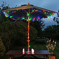 abordables Lámparas LED Novedosas-200 dirigido por 22m de energía solar multicolor de hadas cadena de luz de la lámpara del partido de Navidad decoración del jardín de la boda