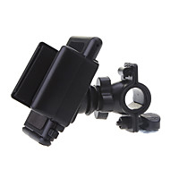 Phone Holder Stand Mount Bike / Motorcycle / Outdoor Handlebar 360° Rotation Plastic for Mobile Phone