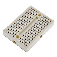 cheap Arduino Accessories-170 Points Mini Breadboard for (For Arduino) Proto Shield (Works with Official (For Arduino) Boards)