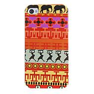 Primitive Dancers Pattern Hard Case for iPhone 4/4S