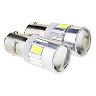 Недорогие Внешние огни для авто-BA9S Автомобиль Лампы 2.5W W SMD 5730 70-80lm lm Светодиодная лампа Лампа поворотного сигнала ForУниверсальный