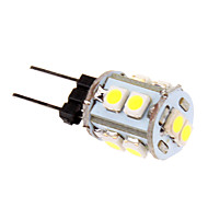 1W G4 LED-maïslampen T 10 leds SMD 2835 Koel wit 60-80lm 5500-6500K DC 12V