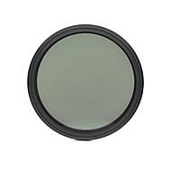 fotga® 58mm 슬림 페이더 ND 필터 조절 변수 중립 밀도 ND2 nd400하기