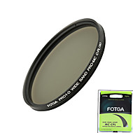 fotga® pro1 차원 58mm 초슬림 MC 멀티 코팅 CPL 원형 편광 렌즈 필터