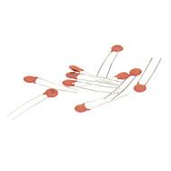 abordables -Condensateur en céramique pour circuits électroniques DIY - Rouge (270 pièces Pack)