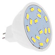 お買い得  LED スポットライト-460 lm LEDスポットライト MR16 15 LEDの SMD 5630 クールホワイト DC 12V